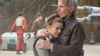 Carrie Fisher Accidentally Revealed A 'Star Wars: Episode VIII' Spoiler That Will Make You Sad