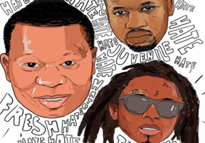 """Mannie Fresh Releases """"Hate"""" With Juvenile & Lil Wayne"""