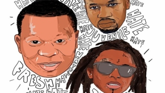 "Mannie Fresh Releases ""Hate"" With Juvenile & Lil Wayne"