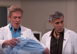 'Jimmy Kimmel Live' staged a long-awaited 'ER' reunion of one (plus Dr. House)