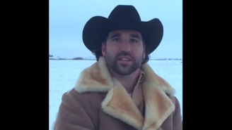 Jared Allen Made The Greatest Retirement Announcement By Literally Riding Off Into The Sunset
