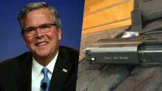 Jeb Bush Shows Off His Gun On Twitter And People Are Not Impressed