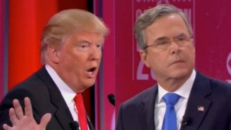 Jeb Bush Emotionally Defends His Family After Donald Trump Attacks The Bush Dynasty