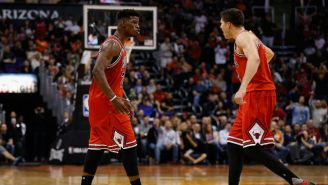 Jimmy Butler Thinks This Doug McDermott Dunk 'Was Good For A White Boy'