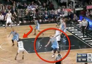 Joe Johnson Broke Jusuf Nurkic's Ankles And Banked In The Buzzer-Beating Game-Winner