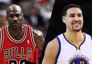 Michael Jordan Tells Klay Thompson To 'Go Ahead And Go Break' The Bulls' 72-Win Record