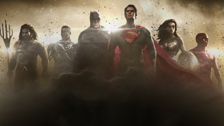 'Justice League's' on schedule as this photo proves. Ha ha, everything is TOTALLY fine, see!?