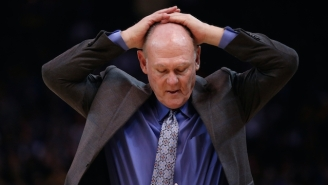 The Kings Are Reportedly 'Strongly Weighing' The Dismissal Of George Karl