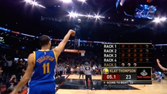 There's A New Three-Point Shootout King In The Splash Brother Family