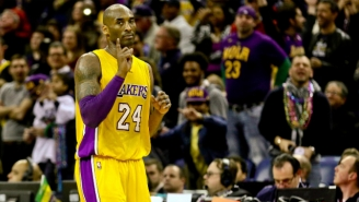 Kobe Gets Revenge For Being Dunked On By Nailing A Game-Clinching Three
