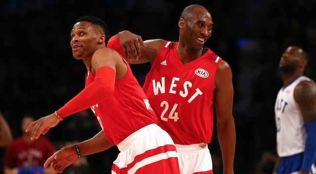 Russell Westbrook, Kobe Bryant, LeBron James