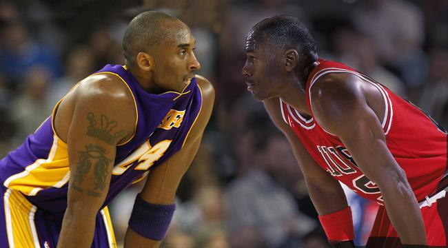 Kobe Bryant, Michael Jordan