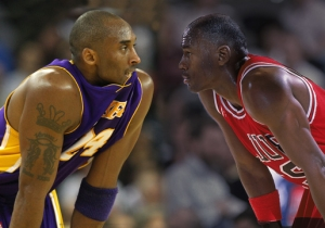 Kobe Bryant Gave His Picks For An All-Time NBA Starting Five