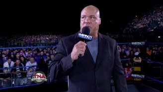 Kurt Angle Says He's Not Retiring, He's Just 'Pretty Much Done' With TNA