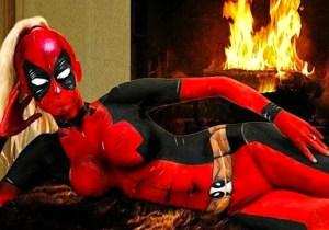 The Bodypaint Artist Who Brought Us Lady Deadpool Has A Whole Superhero Squad
