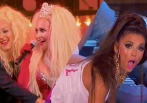 Eva Longoria Channels Nicki Minaj, But Can't Top Hayden Panettiere And Christina Aguilera