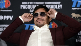 Manny Pacquiao Is Positioning Himself To Fight Conor McGregor If Floyd Mayweather Won't