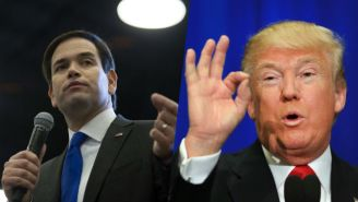 Marco Rubio Made Fun Of Donald Trump's 'Small Hands' And Went For The Most Obvious Joke