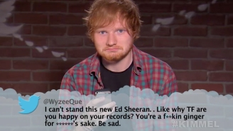 Ed Sheeran, Common, One Direction, more react to new Mean Tweets on 'Jimmy Kimmel'