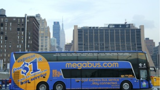 A Megabus Turns Into An Inferno Outside Of Chicago But No One Gets Hurt