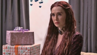 Melisandre From 'Game Of Thrones' Is The Worst Guest You Could Have At A Baby Shower