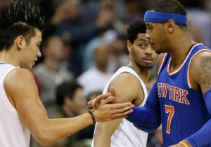 Carmelo Anthony Denies That He Was One Of The Knicks Who Wasn't A Fan Of Linsanity