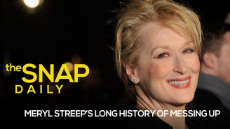 Meryl Streep's long history of messing up