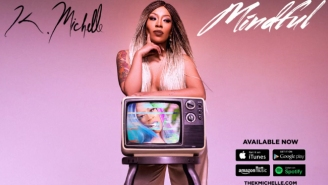 "K. Michelle Stays ""Mindful"" With T-Pain"