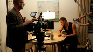 Steven Soderbergh is maybe un-retiring from film directing, possibly for Channing Tatum