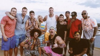 NXT's Mojo Rawley Partied On The Rob Gronkowski Booze Cruise Like A Champ