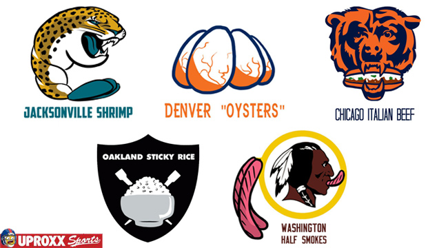 Reimagining Every Nfl Logo As Each City S Most Iconic Food