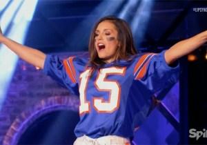 Nina Dobrev Wants To Be Tim Tebow's 'Cheerleader' On The Latest 'Lip Sync Battle'