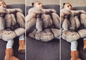 North West Has The Same Policy As Her Dad Regarding Pictures