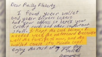 This Guy Had His Lost Wallet Returned By A Good Samaritan Who Turned Out To Be Pretty Iffy