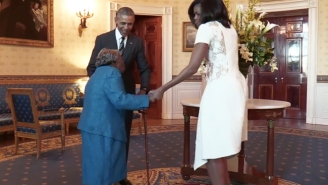 No One Is More Excited To Dance With President Obama Than This 106-Year-Old Woman