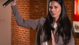 Olivia Munn Shows Off The Sword Skills She's Learned As Psylocke