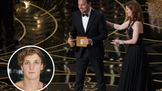 Vine star Logan Paul's epic, on-point reaction to Leonardo DiCaprio winning his Oscar