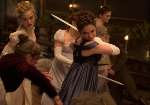 Review: 'Pride and Prejudice and Zombies' is an agreeably silly mash-up