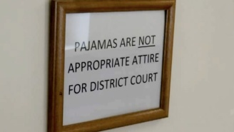 Does This Judge Trying To Crack Down On People Wearing Pajamas To Court Have A Point?