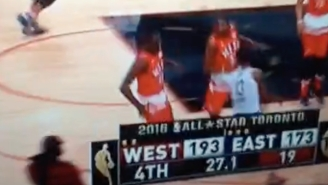 The Only Defense Played In The All-Star Game Was To Prevent Paul George From Setting The Scoring Record