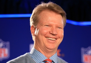 The Cow Goes 'Moo': A Day In The Life Of Phil Simms