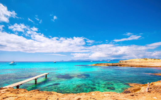 playa de ses illetes getty - pictures of best beaches in the world