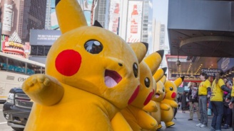 An Army Of Pikachu Took Over Manhattan To Celebrate 20 Years Of 'Pokemon'