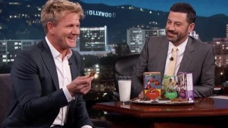 Gordon Ramsay Tries Girl Scout Cookies For The First Time And He Is Definitely Not Impressed