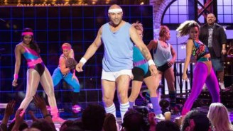 Watch Randy Couture 'Get Physical' In This Latest Bizarre 'Lip Sync Battle' Video