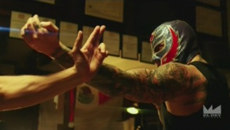 Rey Mysterio Defeated Joey Ryan To Win The Weirdest Championship In Pro Wrestling