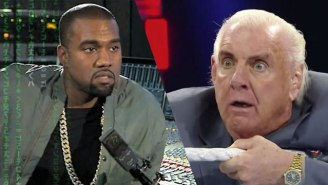 Kanye West Is Trying To Get Together With Ric Flair, Hulk Hogan And 'Every Awesome Wrestler'