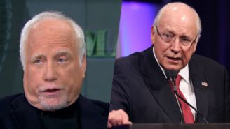Richard Dreyfuss Took A Hilarious Shot At Dick Cheney In This Interview For 'Madoff'