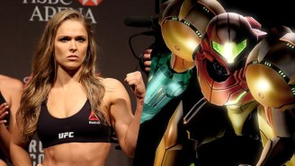 Ronda Rousey Wants To Play Samus If They End Up Making A Metroid Movie