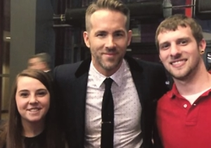 Ryan Reynolds Gives A Fan An Awesome Gift, Is Pretty Sure He Knows Who Leaked The 'Deadpool' Test Footage